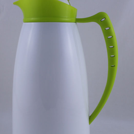 Colorful Glass Inner Thermos Plastic Handle Water Flask Jug (JGGU) pictures & photos