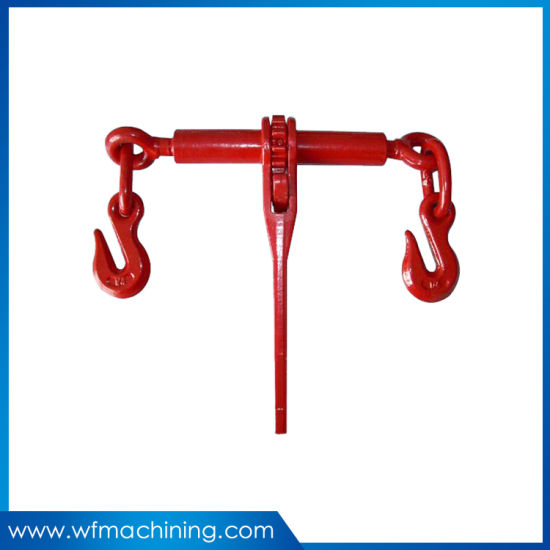 Rigging Hardware/ Drop Forged Ratchet Type Load Binder with Double Hooks