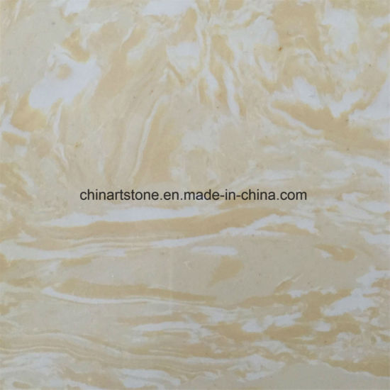 China White Onxy Artificial Marble Slab For Wall Tile China - Fake marble slab