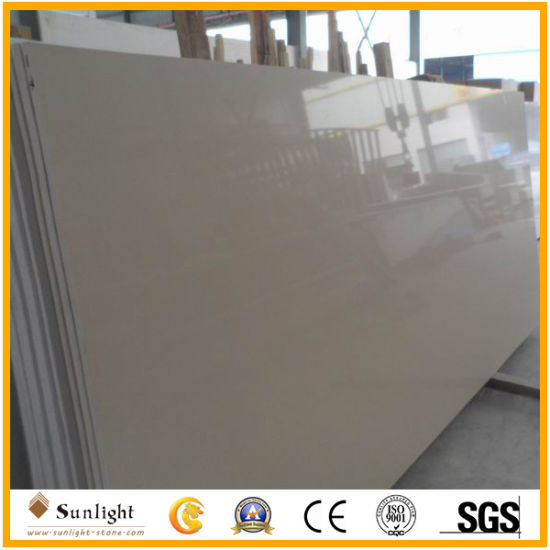 White/Pink/Yellow Colors Quartz Stone for Flooring pictures & photos