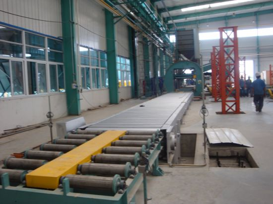 Continuous Multi-Car Annealing Furnace for Castings pictures & photos