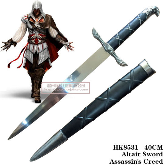 China Altair Sword Assassin S Creed Home Decoration 40cm Hk8531