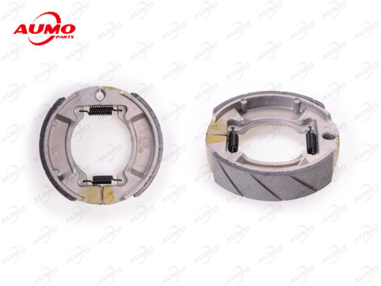 Scooter Parts Longjia Motorcycle Brake Shoes Assy pictures & photos