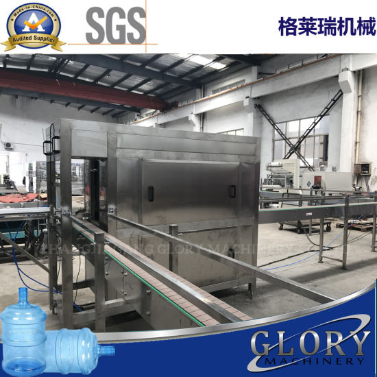 450bph 5 Gallon Automatic Barrel Water Filling Line pictures & photos