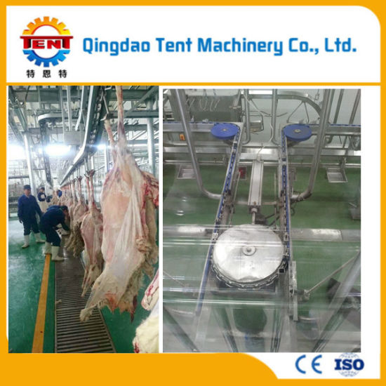 Sheep Slaughter Machine V Shape Restraining Conveyor Machine for Goat Abattoir
