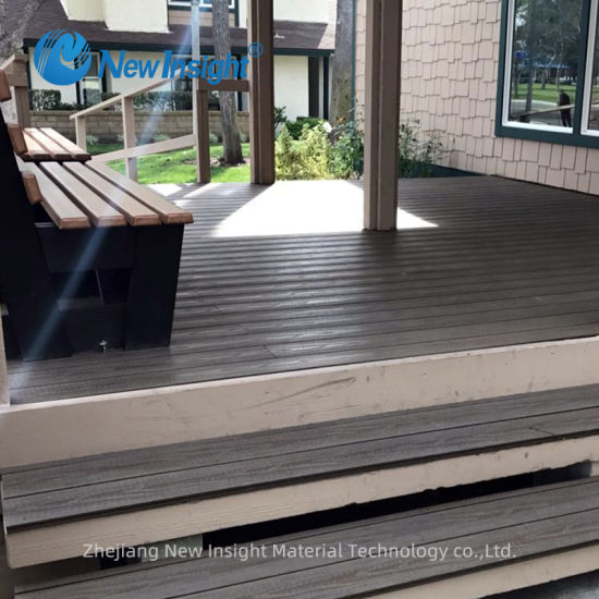 Icc-Es Certified Co-Extrusion Capped WPC Wood Plastic Composite Decking