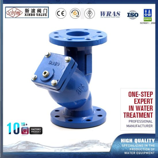 Pn10 Cast Iron Ductile Iron  Y Strianer Valve pictures & photos