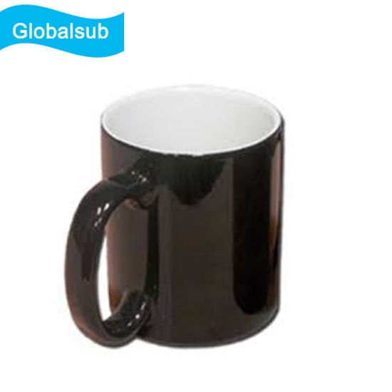picture about Printable Mugs named China 11oz Glazed Printable Warmth Distinction Espresso Mugs - China