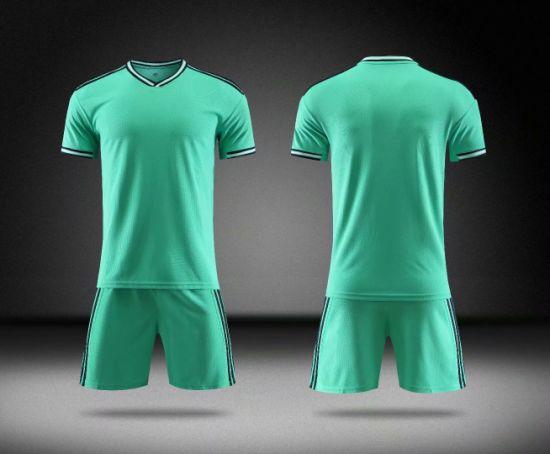 2019-2020 Real Madrid 3rd Away Green Football Wear Jerseys