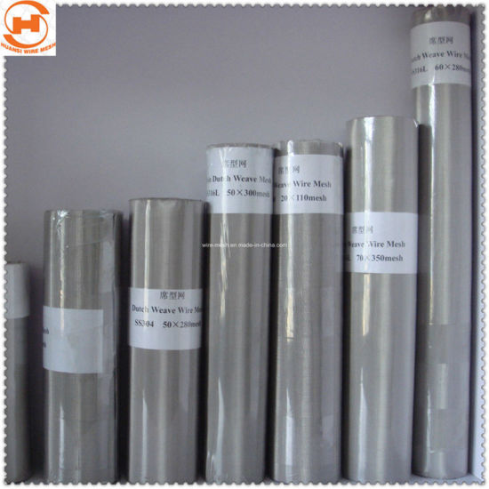 Stainless Steel Dutch Weaving Wire Mesh