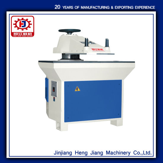 Hj-828b 20t Manual Hydraulic Arm Die Cutting Shoe Machine pictures & photos
