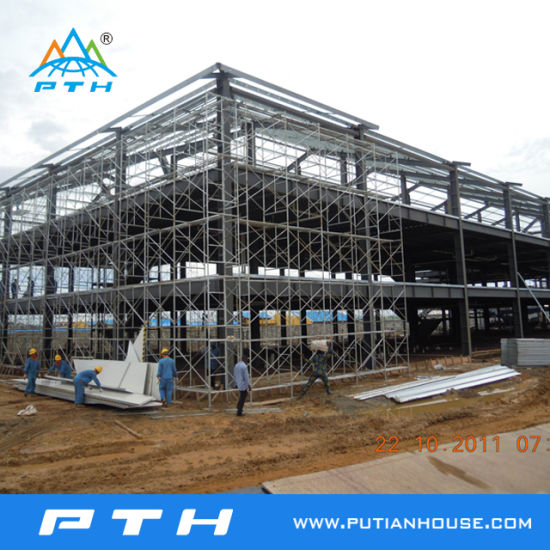 ISO 9001: 2008 Certified Steel (Q235B, Q345) Structure Plant pictures & photos