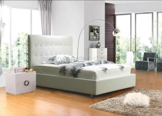 Bedroom Set Home Furniture Leather Bed