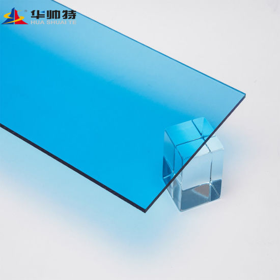 2-50 mm Clear and Transparent Price Cast Acrylic Sheet Fluorescent PMMA  Sheet