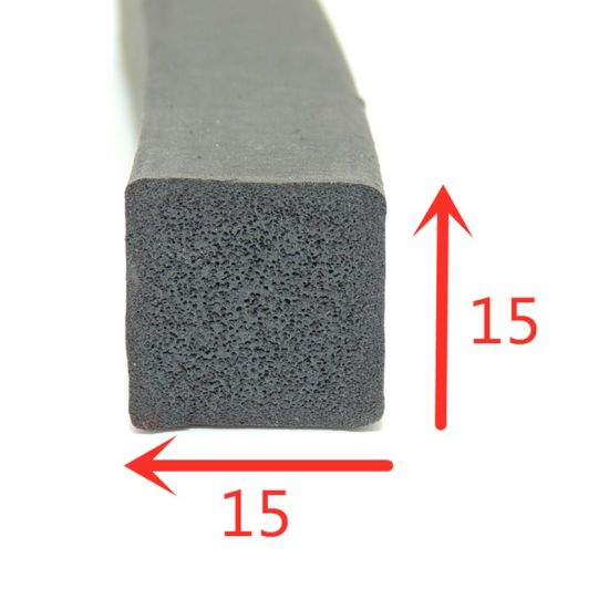 Square Shape EPDM Foam Rubber Seal for Doors pictures & photos