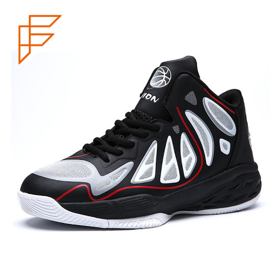 Topsion Buy China Retail Sports No Brand OEM Basketball Shoes pictures & photos