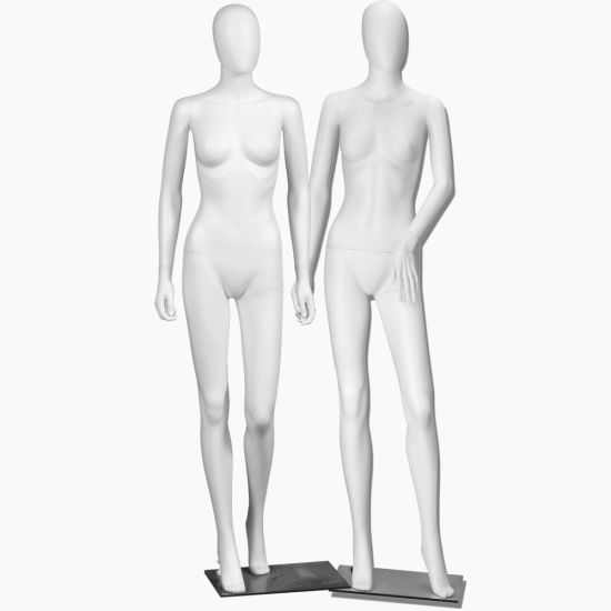 Efeel High Quality Plastic White Male Mannequin Headless Sexy Muscular Adults Female Mannequin Tailors Window Dummy
