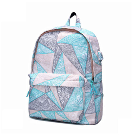 Junyuan China Wholesale New Korean Style School Backpack School Bag, New Models for Study or Travel