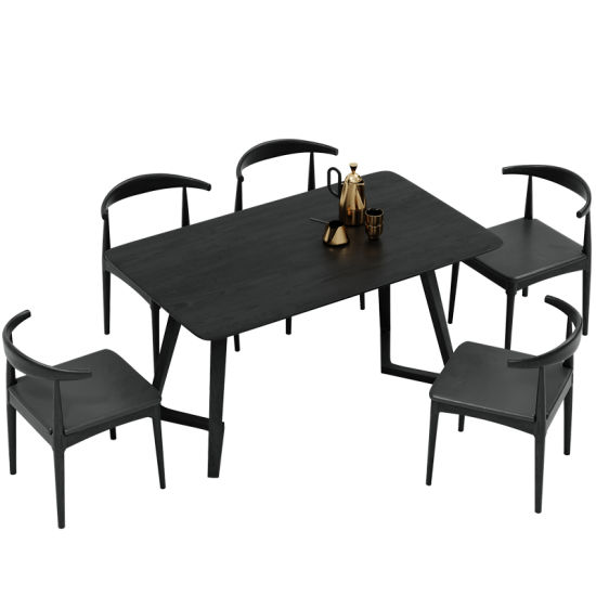 China Heat Selling Wooden Dining Table And Chairs Set 6 Seater