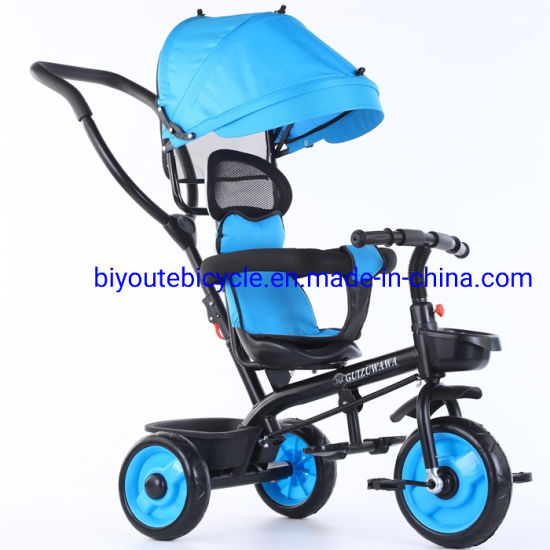 High Quality Cheap Baby Tricycle/ 4 in 1 Kids Tricycle Stroller/ China Baby Tricycle for Children