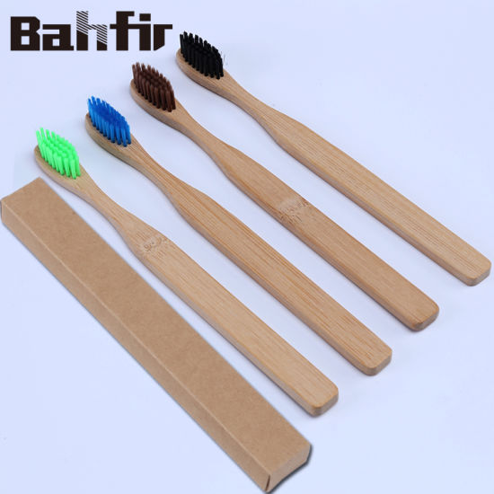 China Eco-Friendly Custom Private Label Natural Bamboo Toothbrush