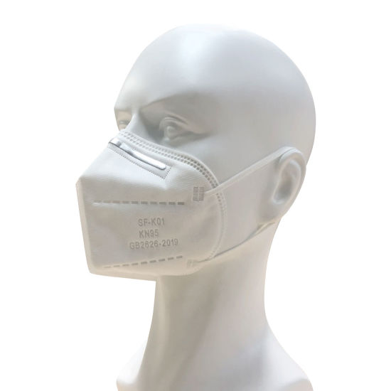 Wholesale KN95 Disposable Dust Protective Adult Non Woven Fabric FFP2 PPE Particulate Respirator Safety Face Mask