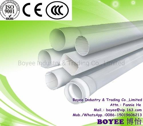 White Color PVC-U Drainage Pipe