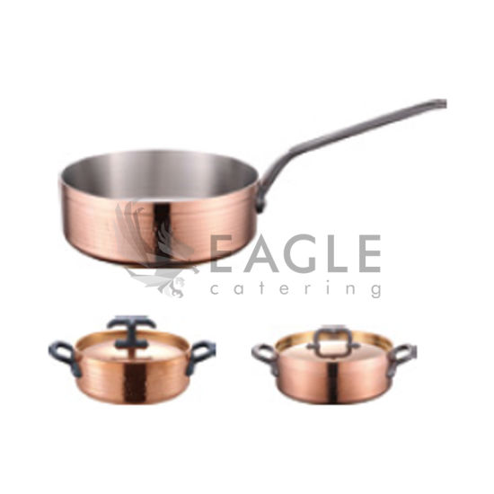 Stainless Steel Copper Sauce Pot