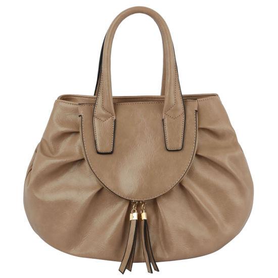 PU Vegan Leather Fashion Designer Luxury Handbag Satchel Bag