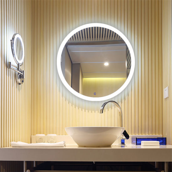 Professional Export for Wall Mounted LED Lighted Bathroom Mirror Hotel Wholesale