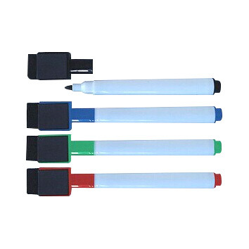 Cheap Magnetic Whiteboard Marker Pen with an Eraser pictures & photos