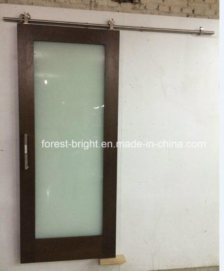 China Marriott Hotel Barn Type Sliding Glass Door for Hotel Bathroom pictures & photos
