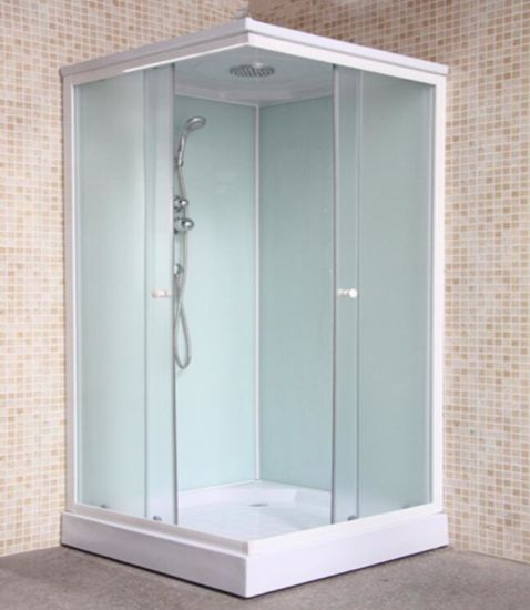 Chinese Complete Sliding Glass Square Bath Cabin for Sale