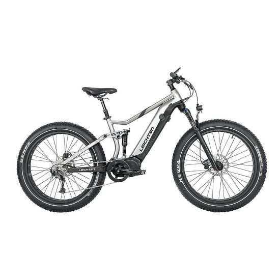 1000W Power MID-Driver High Speed 48V/17.5ah Hidden Battery Long Range Full Suspension Fat Tire Snow Ebike Electric Bicycle