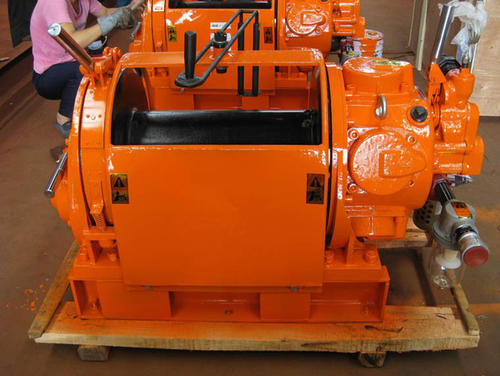 60kn Air Cable Puller Pulling and Lifting Machine Air Winch Driven by Air Motor
