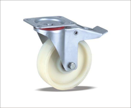 Swivel Caster With Nylon Wheels