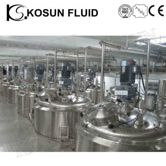 Stainless Steel Liquid Washer Soap Shampoo Mixing Tank pictures & photos