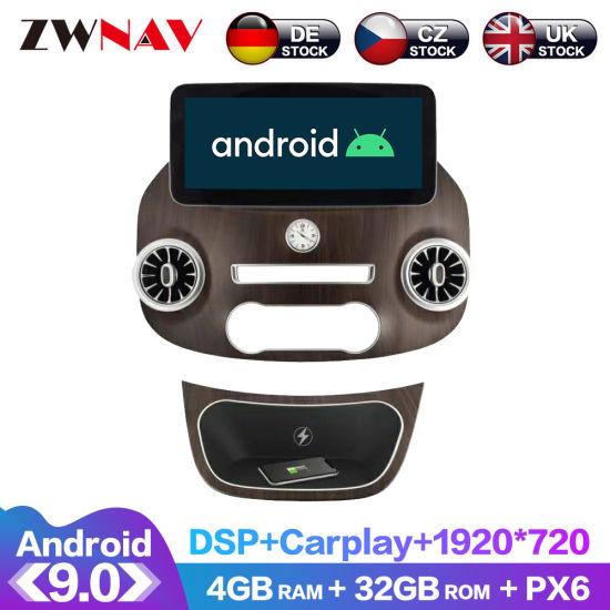 for Mercedes Benz V Class Vito Viano Valente Metris W447 Android Radio Car GPS Auto Stereo