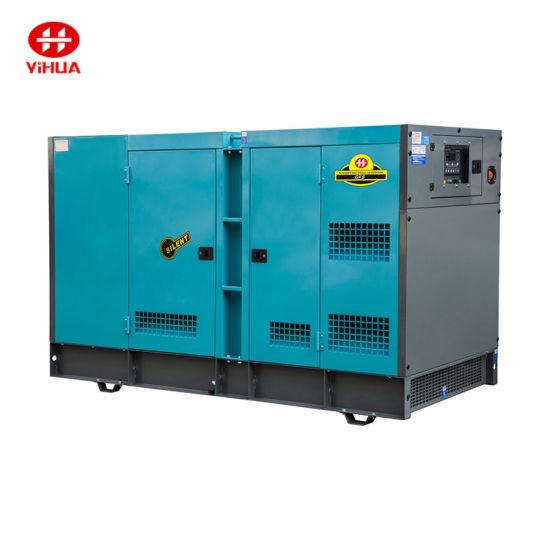 20kw/25kVA Cum-Min with Stamford Alternator Silent Type Electric Diesel Power Generator Set