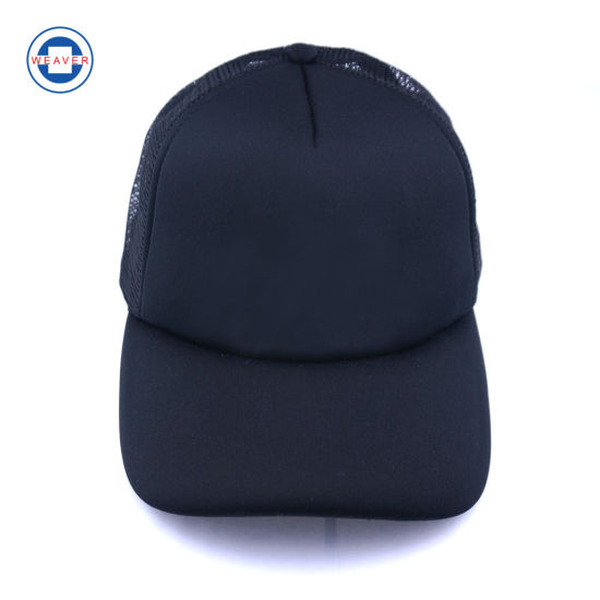 63782e64cda China Design Your Own Cheap Plain Short Brim Mesh Baseball Cap and ...