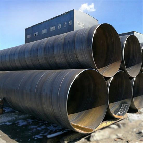 GRP Pipe API A252 Grade 3 SSAW ASTM A106 Spiral Welding Steel Pipes