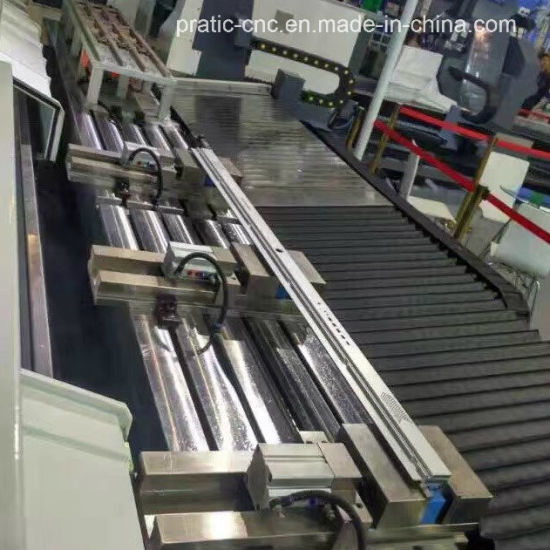 CNC Alumium Profile Processing Machinery for Milling Drilling Tapping pictures & photos
