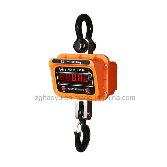 Electronic Hanging Crane Scale Easy Remote Controlling pictures & photos
