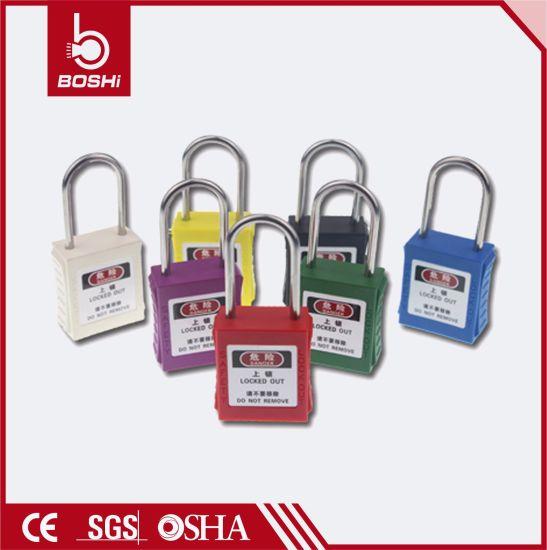 8b9a23bb679 China Bd-G75 38mm Black Safety Padlocks for Lockout Tagout - China ...