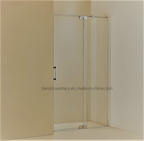 China Hr-02-D Glass to Glass Hinge Open Shower Door - China Shower ...
