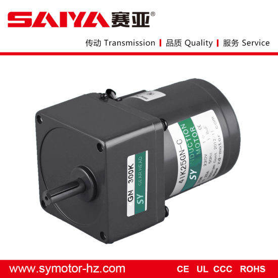 220V, 110V, 40W AC Electric Gear Motor Used in Grass Cuter pictures & photos