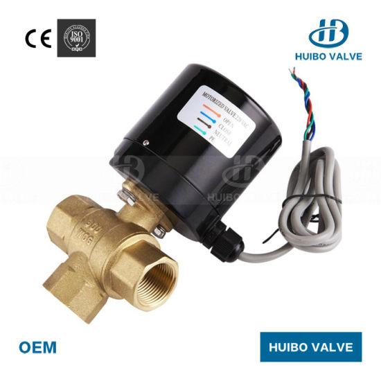 Specification : DN15, Voltage : AC24V no-branded 3 Way AC220V//24V DC5V//12V//24V Brass Motorized Ball Valve Electric Ball Valve Electric Actuator Valve ZYUS