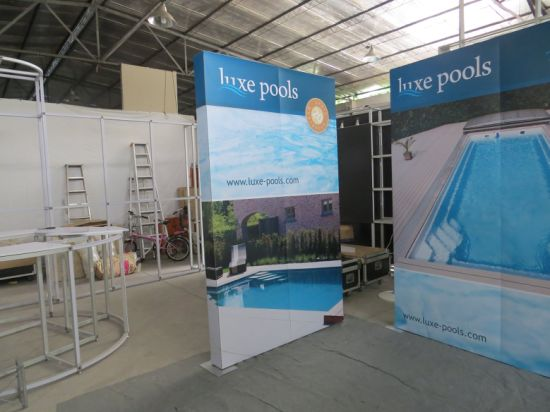 Exhibition Booth Number : China custom trade show exhibition booth portable modular banner