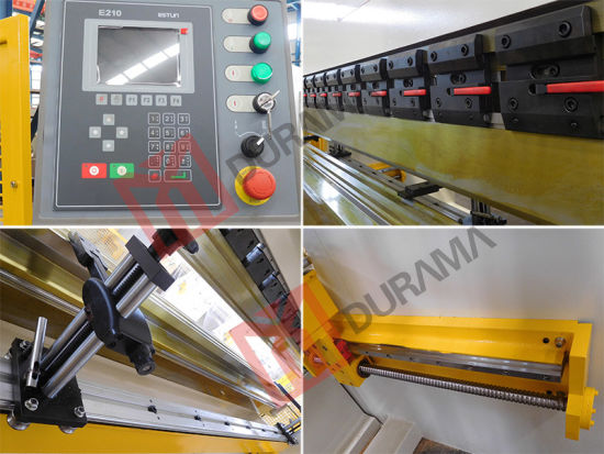 CNC / Nc Hydraulic Press Brake Machine Folding Bending Machine, Sheet Metal Bending Machine, Plate Bending Machine pictures & photos
