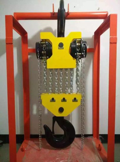 Df 50ton Chain Block Lifting Crane pictures & photos